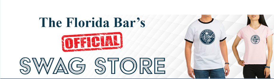 Florida Bar Official Swag Store Header